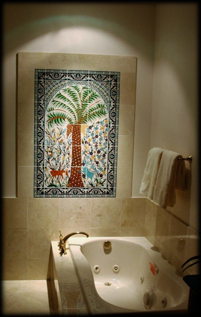 The Pam Tree Ceramic Tile Murals Of Marie Balian From