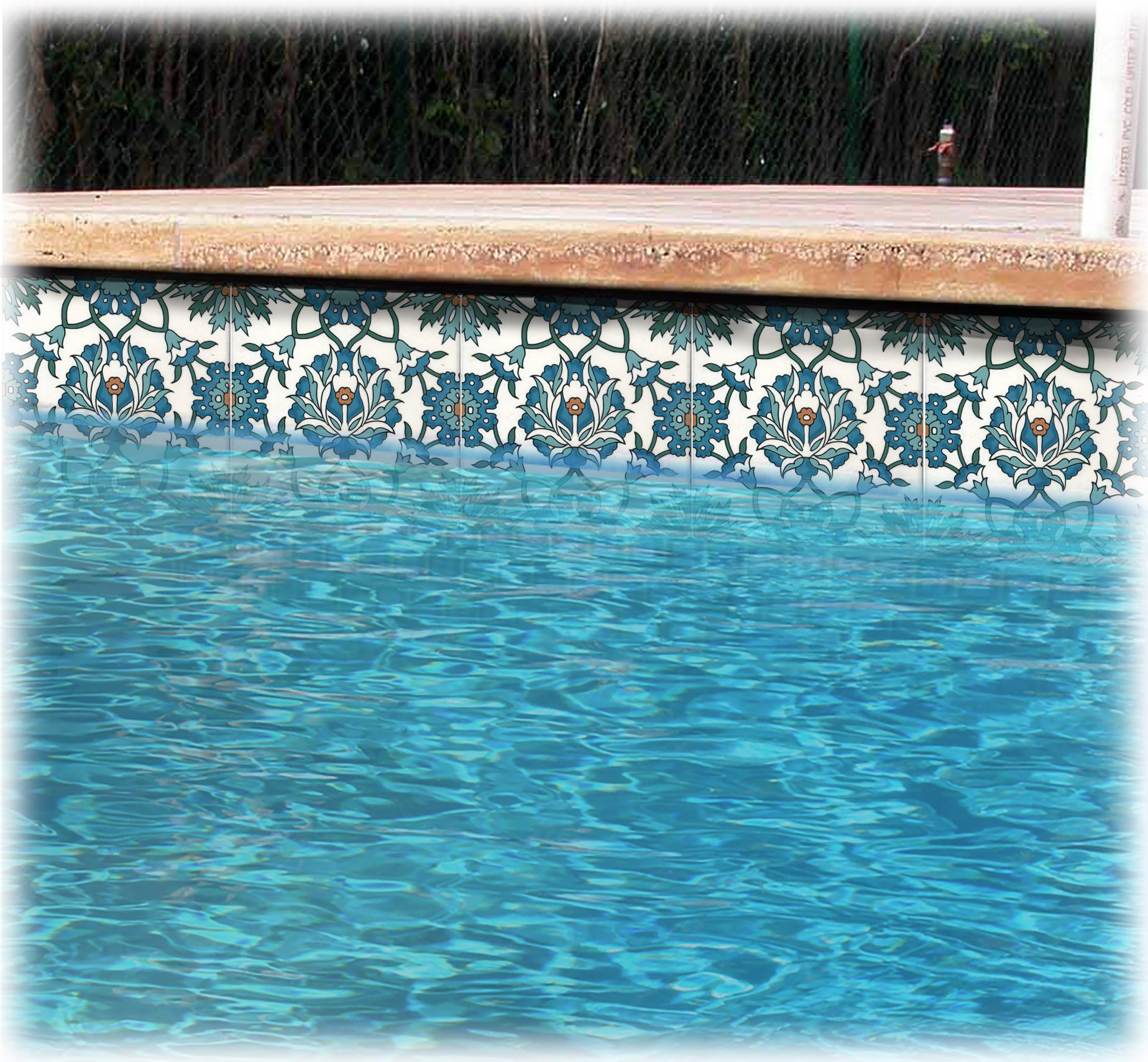 Swimming Pool Tile Designs Swimming Pool Liners & Waterline Pool Tiles Balian Studio