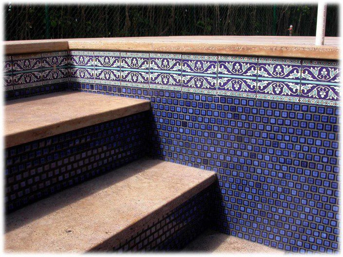 Waterline Pool Tiles and Swimming Pool Tiles